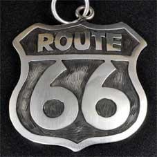 銘:James Manning Route 66サインボード型「チェーン付きのトップ」
