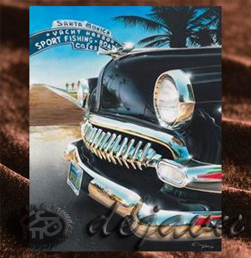 Santa Monica 「Arch Sign & Car」