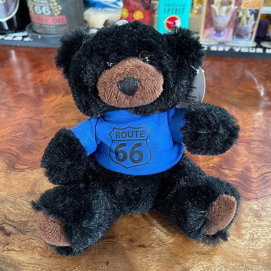 熊の縫いぐるみ青T