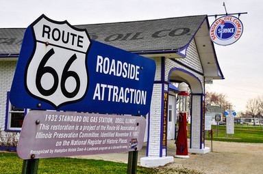 Standard Oil Gasoline Station