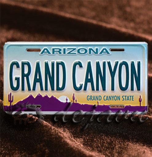 License Plate ─ Grand Canyon Arizona