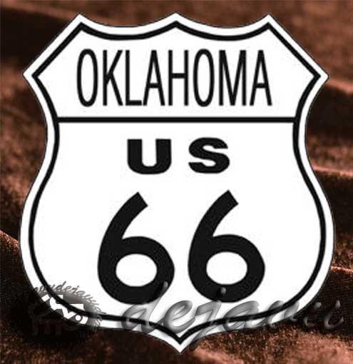 Tin Sign 「Oklahoma」