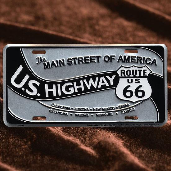 License Plate ─ U.S.Highway