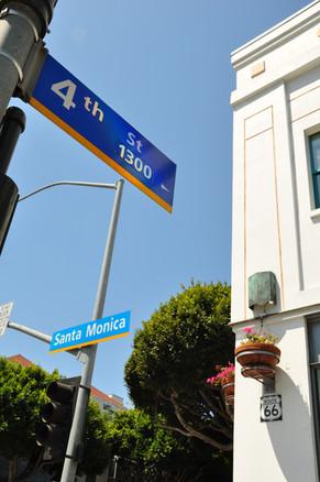 Santa Monica Blvd & 4th St