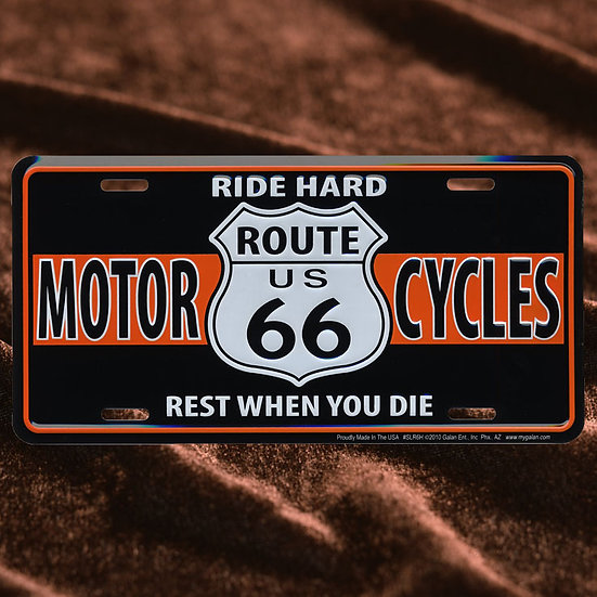 License Plate ─ Moter Cycles