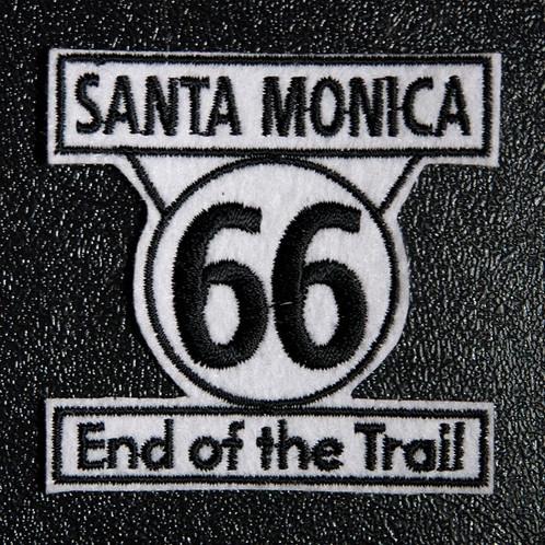 santa monica end of the trail のエンブレム