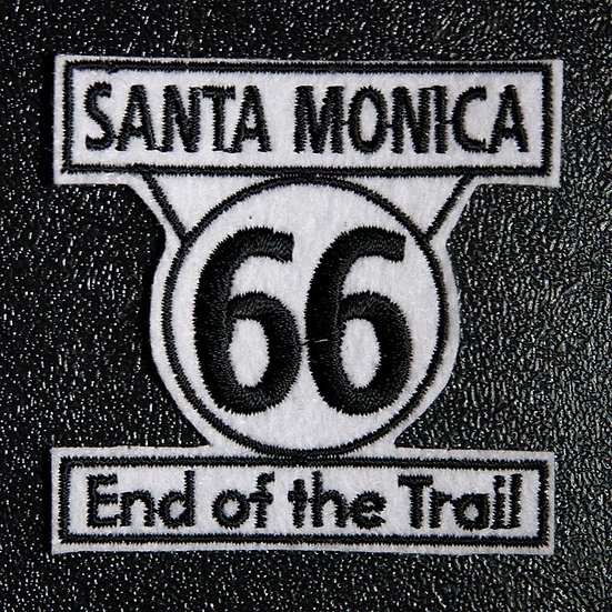 Santa Monica 「End of the Trail」のエンブレム