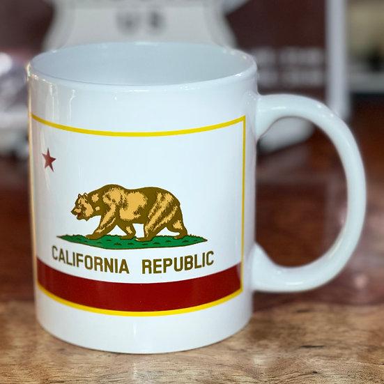 ロスアンジェルス州旗のマグカップ