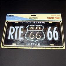 License Plate ─ RTE66 ネオンサイン