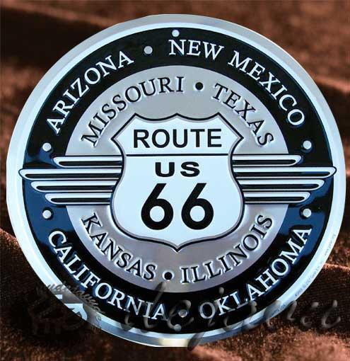 Tin Sign「丸型8州名入り」