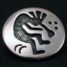 銘:John Honie 治癒能力,豊穣のシンボル「ココペリ(フルート奏者の精霊)のトップ」
