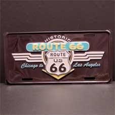License Plate ─ ロゴとウイングアロー