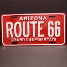 License Plate ─ Arizona Grand Canyon State