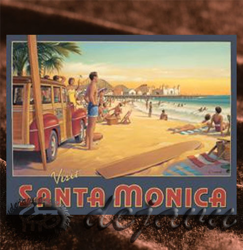 Santa Monica 「Beach & Pier」