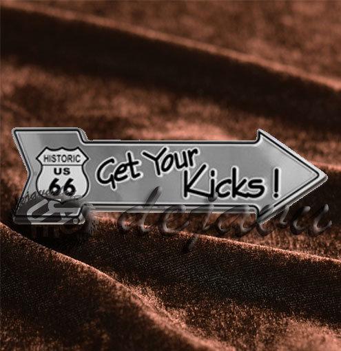 Arrow Plate ─ Get Your Kicks !