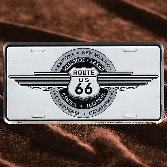 License Plate ─ ウイングサークルロゴ