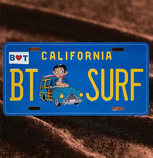 Betty Boop Surf