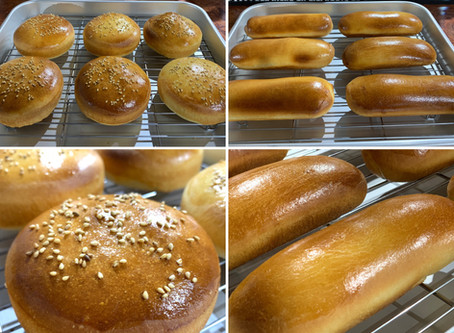 パンも自家製でご提供 !!