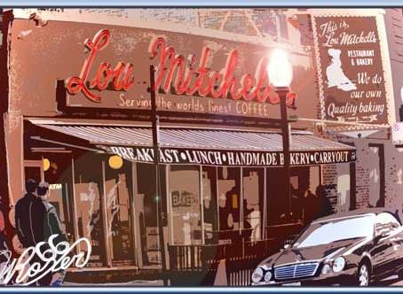 R66-IL-Chicago-Lou Mitchell's レストラン