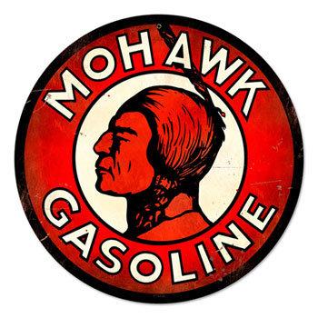 インディアン MOHAWK GASOLINE 円形