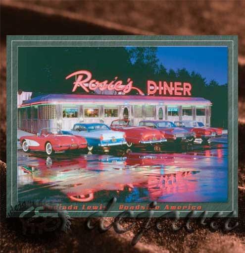 ルート66にある風景「Cars & Diner」