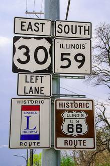 Plainfieldの標識