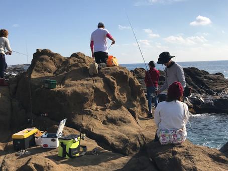 磯釣りでメジナング