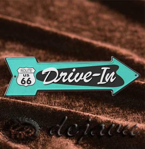 Arrow Plate ─ Drive-In