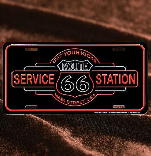 ネオン管Service Station