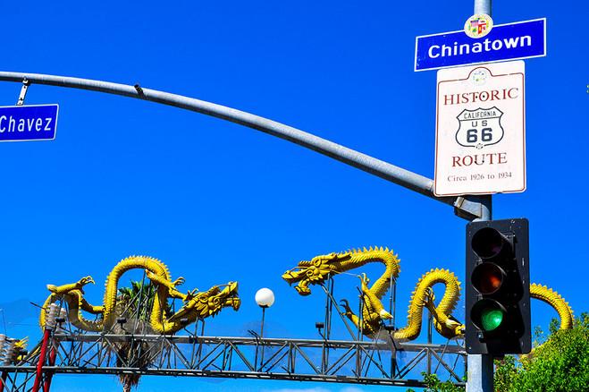 Santa Monica Blvd Chinatown