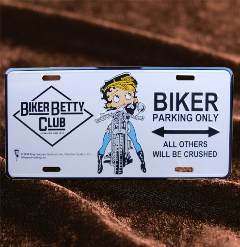 Betty Boop Biker Club