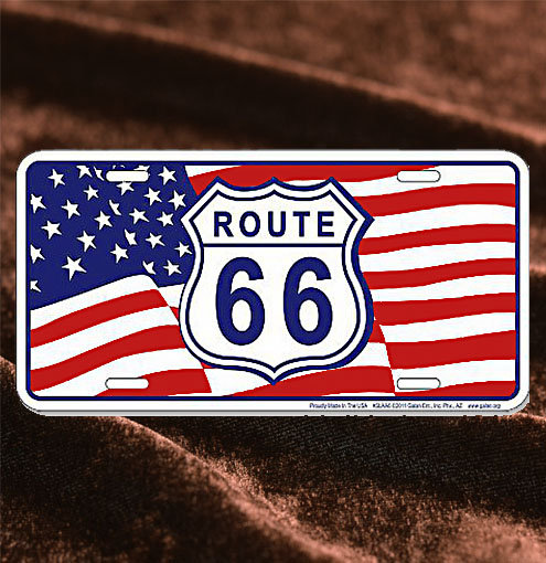 American Flag & Route66