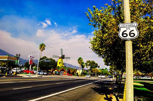 Santa Anita のサインボード