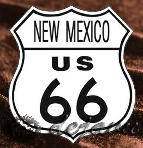 Tin Sign 「New Mexico」