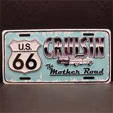 License Plate ─ CRUISIN&キャディ