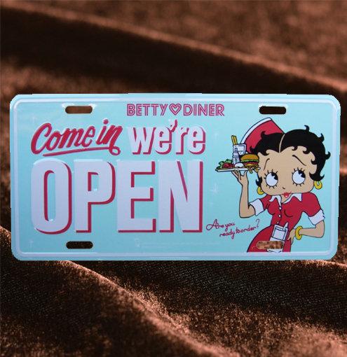 Betty Boop  OPEN