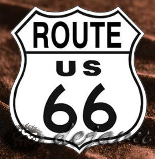 Tin Sign 「Route66」