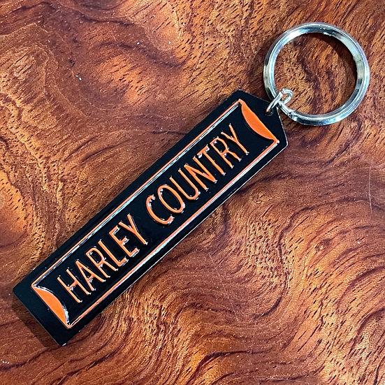 バイカーズストリートサインキーホルダー 【HARLEY COUNTRY】