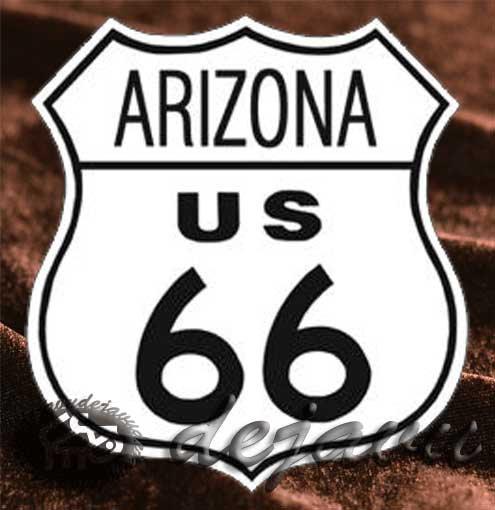 Tin Sign 「Arizona」