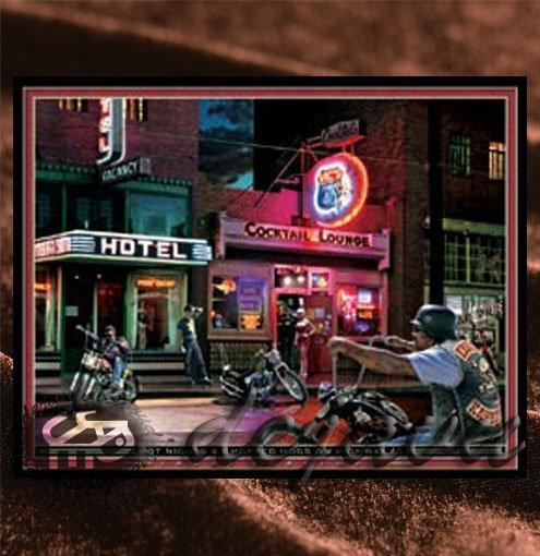 Night Bar & Bikers