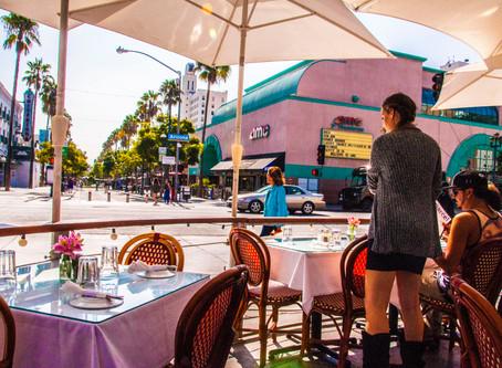 Santa Monica, CA ─ Open Cafe