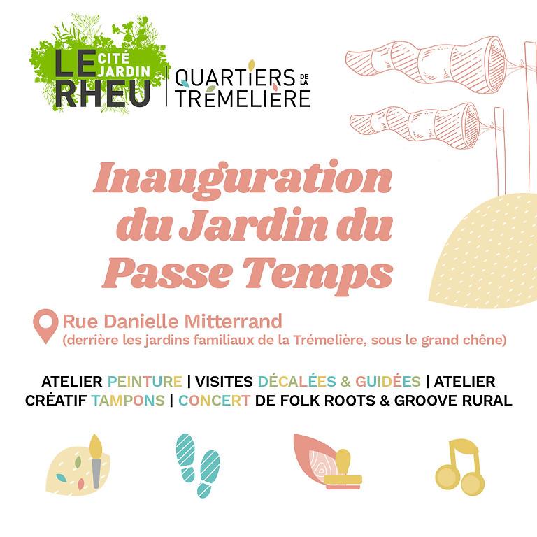 Inauguration du Jardin du Passe-Temps