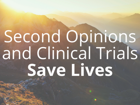 The Importance of Second Opinions and Clinical Trials in Cholangiocarcinoma