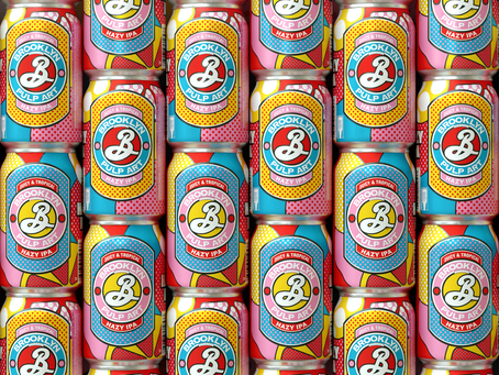 We'll Drink To A Pop Art-Inspired Hazy IPA From Brooklyn Brewery