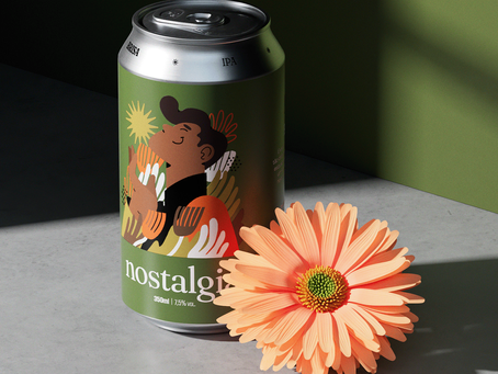 A Conceptual Beer Design That Fills Us With Nostalgia