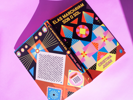 Luisa Zardo's Cover Design For Cristina Judar's 'They Marched Under The Sun' Is Flawlessly Vibrant