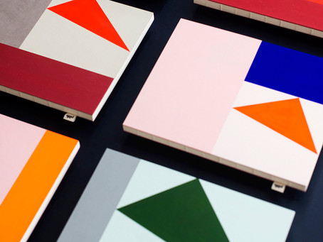 Angus Hyland Collaborated With Pith To Create A Limited Edition Series Of Notebooks