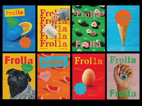 Frolla's Branding By Nick Barclay Makes Me Crave A Visit To Seoul