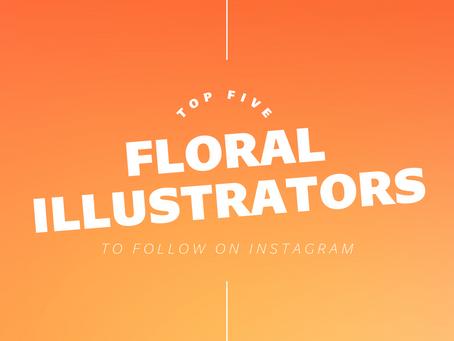 Top Five Floral Illustrators To Follow On Instagram