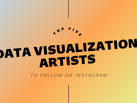 Top Five Data Visualization Artists To Follow On Instagram